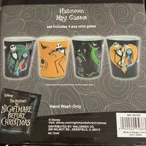 Disney Dining - The nightmare before Christmas 4 shot glass set